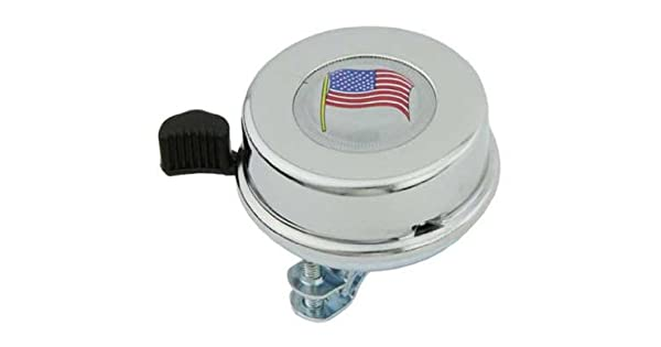 American Flag bicycle Bell Chrome. 109125