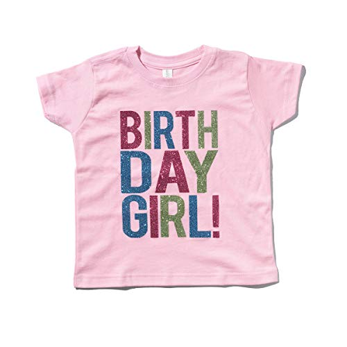 (SoRock Birthday Girl Toddler Kids T-Shirt Pink)