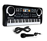 KYOKIM 61 Keys Music Electronic Keyboard,children's Educational Toys With Microphone