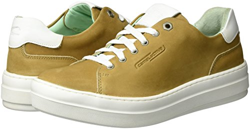 Brown camel 01 Low Women''s Top active 78 Sneakers Cord FUAYF