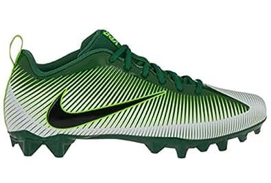 Boys Nike Vapor Shark 2.0 BG (GS) Football Cleat (4 Big Kid M, Green/White-Black-Electric Green)