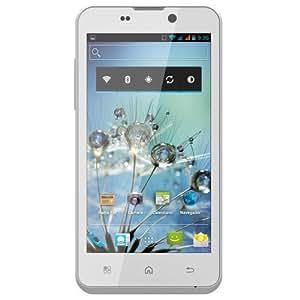 BQ Aquaris 4.5 - Smartphone libre Android (pantalla 4.5 pulgadas, cámara 8 Mp, 4 GB, Dual-Core 1 GHz, 1 GB RAM), blanco