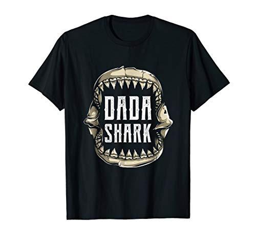 I'm A Dada Shark T-Shirt Funny Easy Halloween Costume Tees