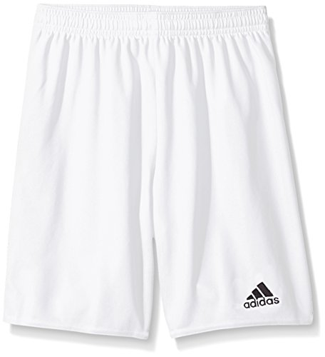adidas Youth Parma 16 Shorts, White/Black, Small