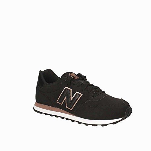 New Balance Ladies Gw500 Sneaker Black - Brown / Pink