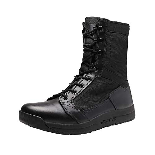 NORTIV 8 Men's Military Tactical Boots Lightweight Jungle Boots