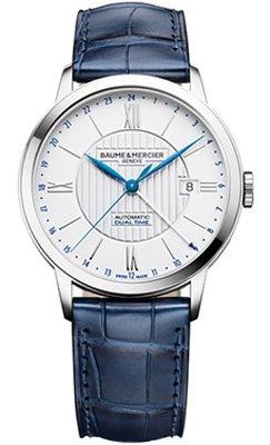 Baume et Mercier Classima Core Automatic Dual Time Mens Watch MOA10272