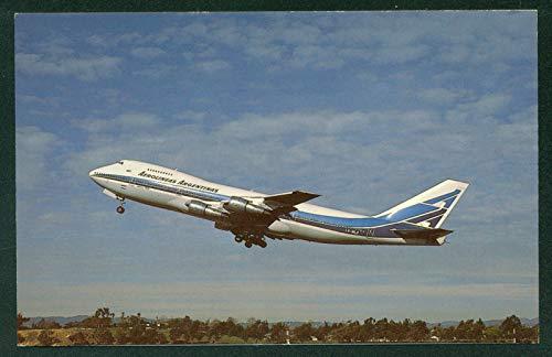 Argentinas Airlines Aerolineas Boeing 747 Airplane Argentina Postcard