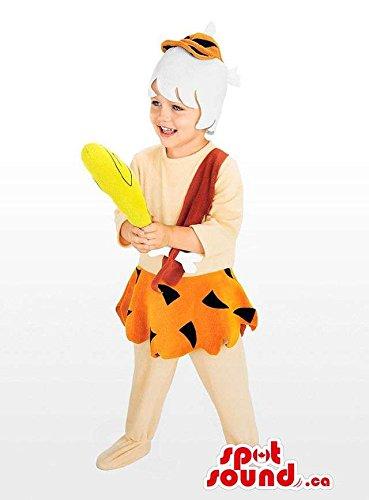 Well-Known The Flintstone'S Cartoon Character Children Size (Flintstones Characters Costumes)