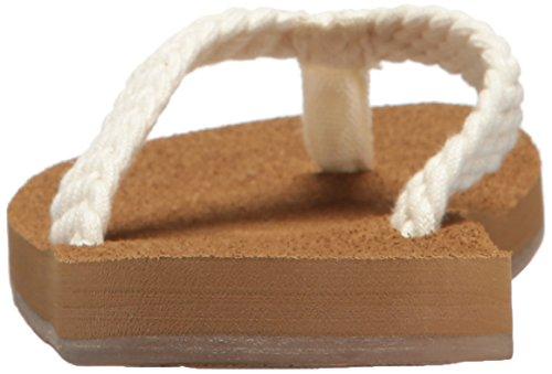 Cream Women's Roxy Porto Sandal Flip Flop New XqpZwpdHz