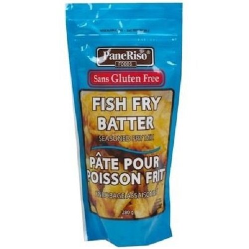 - PaneRiso Gluten Free Fish Fry Batter 280g/9.87Oz {Imported from Canada}