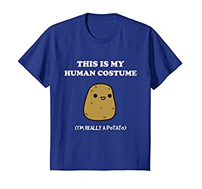 Funny Potato T-Shirt | Xmas Gift This Is My Human Costume