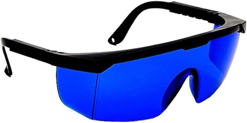 Liadance Gafas De Seguridad De Protección De Seguridad Química De Los Vidrios De Los Anteojos Resistente para Laboratorio Casero del Lugar De Trabajo Protección De Ojos Azules