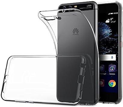 Elekin Funda Huawei P10, Fundas para Transparente Silicona ...