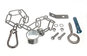 GAS COOKER STABILITY SAFETY CHAIN KIT WITH FITTINGS AND BRACKET ( 10 kits )