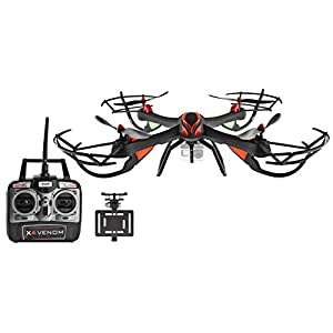 Dynamic Aerial Systems X4 Venom 4CH 6-Axis Gyro 2.4ghz RC Remote Control Quadcopter Drone for GoPro with One-Key Return and Headless Mode (Compatible with Hero4)
