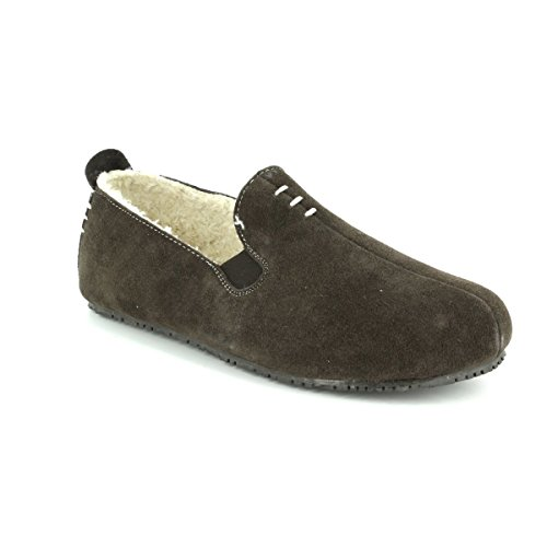 Clarks Kite Falcon Mens Slippers 10 G Brown Suede