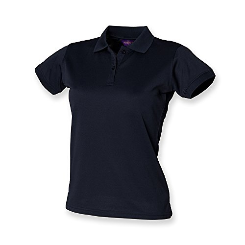 Henbury Ladies Coolplus?? Polo Shirt M Navy