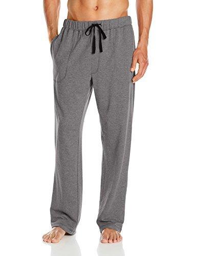 Gray Knit Pants (Nautica Men's French Terry Lounge Pants, Grey, Medium)