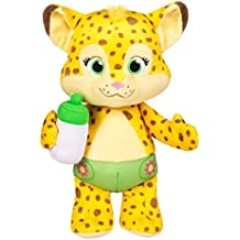"""Word Party - Franny 10"""" Stuffed Plush Baby With Bottle - Snuggle and Play"""