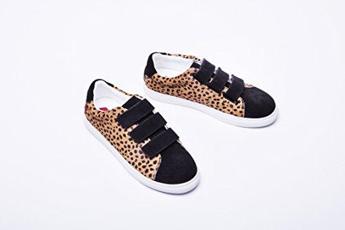 Sneakers Bons Bons baisers Edith Léopard Leopardino de baisers Paname wSUZSqvg