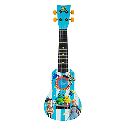 First Act Discovery Toy Story 4 Ukulele, Blue (Guitar Toy Story)
