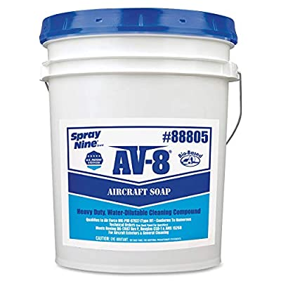 Permatex 88805 AV-8 Aircraft Soap, 5 Gallon Pail: Automotive