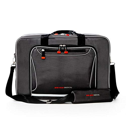 Medical Gear Trunk Organzier Antimicrobial, Medical Supply Organizer, Home Health, Nurses (Adc Nylon Medical Bag)