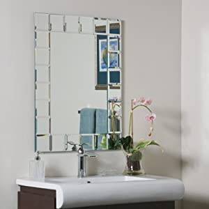 modern bathroom mirror. decor wonderland montreal modern bathroom mirror
