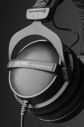 411w%2BQ59BcL - beyerdynamic DT 770 Pro 80 Limited Edition Headphones, Black