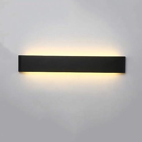 Amazon.com: Tira de luces LED de pared de metal acrílico ...
