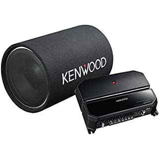 Discount Kenwood 12-Inch Cylindrical Subwoofer and 2-Channel Amplifier
