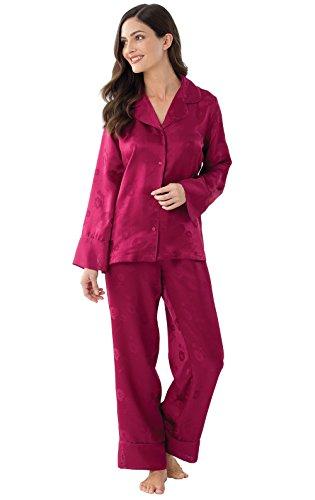 Womens 100% Silk Pajama - 3
