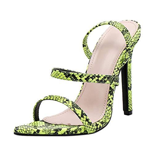 - Tantisy ♣↭♣ Women Point Toe High Heels/Sexy Leopard Super High 11.5cm/4.72