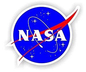 NASA Seal USA Space Cosmos Logo Vinyl sticker 4 x4 -