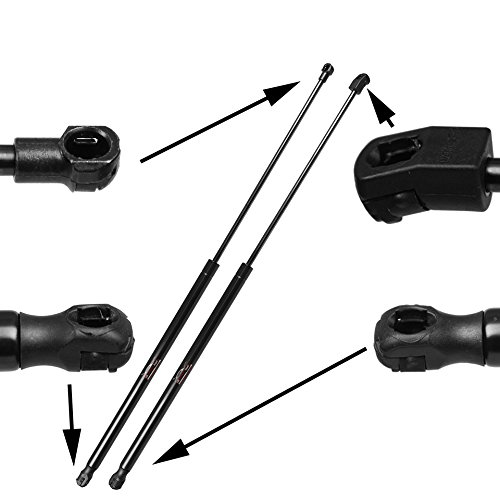 Qty (2) Fits Toyota Avalon 2005 To 2010 Front Hood Lift supports Struts Shocks