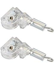 "Wand Tilter 2Pack for 1"" Mini Blind Head Rail, Tilt Mechanism Hook Connection with D Shaped Gear"