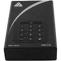 Apricorn Aegis Desktop 4 TB FIPS 140-2 Validated 256-Bit Encrypted Hard Drive (ADT-3PL256F-4000)