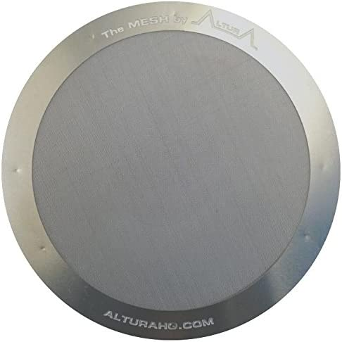 CAFE CONCETTO Filter for use in AeroPress Coffee Makers Reusable Disc Fine