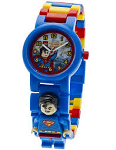Lego DC Comics Super Heroes Superman Buildable Watch - Dc Super Heroes Lego Watch