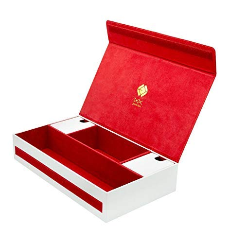 White Dex Protection Supreme Game Chest Card Deck Storage Box