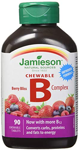 Jamieson Chewable B Complex - Berry Bliss for sale  Delivered anywhere in Canada