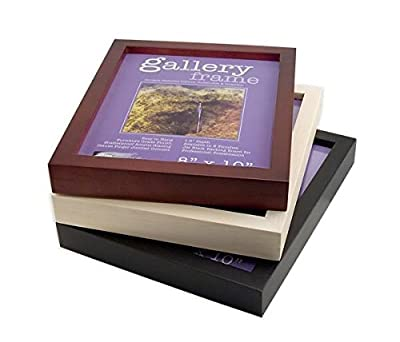 Ambiance Gallery Wood Picture Frame for Stretched Canvas, Artist Panels and Art Boards [Single Frame] Asst. Singles