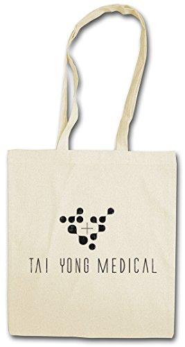 TAI YONG LOGO Hipster Shopping Cotton Bag Borse riutilizzabili per la spesa – società Firma Firmenlogo Medical Insignia Sign Zeichen Game Corporation Corp