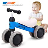 SANXIA Baby Balance Bike,Toddler Bicycle Children Walker for 10-24 Months, Baby Walker Toys Rides for Boys Girls No Pedal Bikes for Baby Birthday Gift