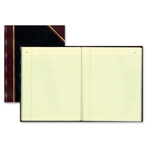 (Rediform Texhide Record Books w/ Margin-Book W/Margin, Record-Ruled, 300 Pages, 14-1/4