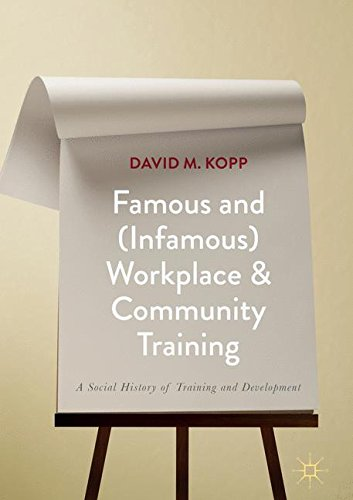 Famous and (Infamous) Workplace and Community Training: A Social History of Training and Development