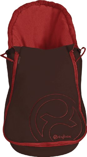 Cybex Aton Footmuff Chilli Pepper Red by BabyCentre