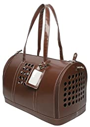 Bark-n-Bag Carrier One Collection Pet Carrier, Brown