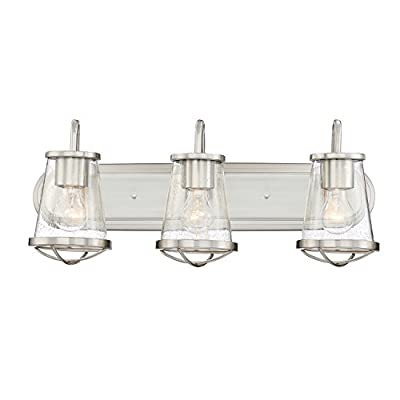 Designers Fountain 87003-SP Darby 3 Light Bath Bar, 24 in